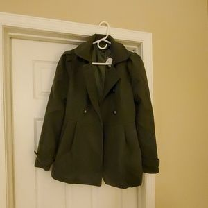 Beautiful deep green Forever 21 Coat